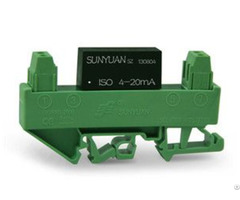 Low Cost Small Size Din Rail 4 20ma Isolator