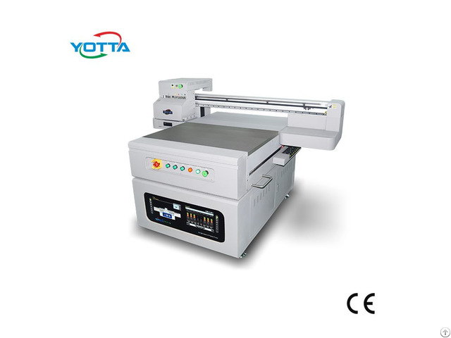 Yotta Small Size Uv Printer 900 600m For Box Case Sign Metal Glass Printing