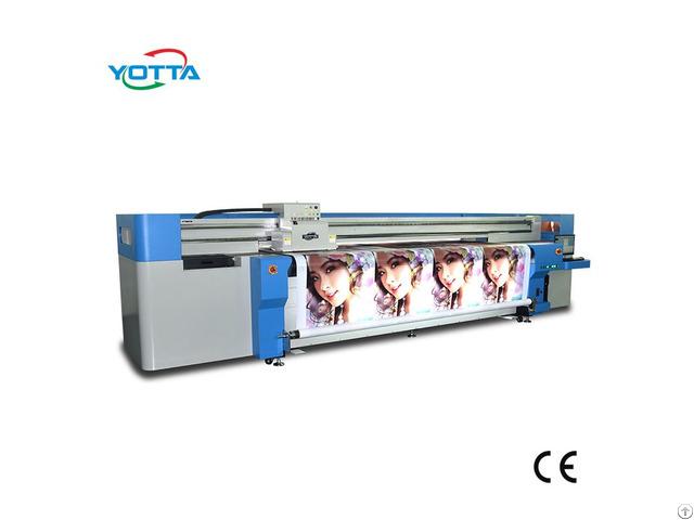 Large Format 3 2 M Hybrid Printer For Flex Banner Vinyl Adhesive Car Sticker Canvas Printing