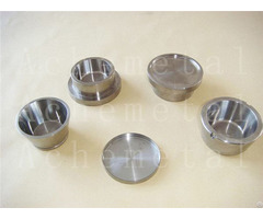 Molybdenum Small Tungsten Plate Spinning Vacuum Welding Crucible