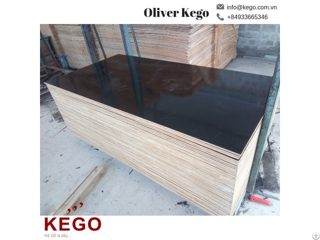 Water Proof Outdoor Usage 1200 2440 Film Faced Construction Plywood