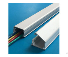 Good Quality Electrical Pvc One Piece Wiring Duct Raceway Manufacture