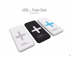 6000mah Portable Fast Qi Wireless Charger For Mobile