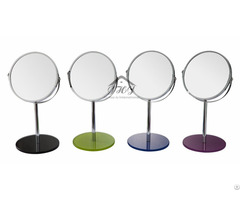 Single Unit Tabletop Swivel Vanity Makeup Mirror