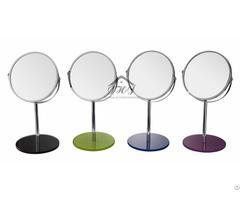 Single Unit Tabletop Swivel Vanity Makeup Mirror
