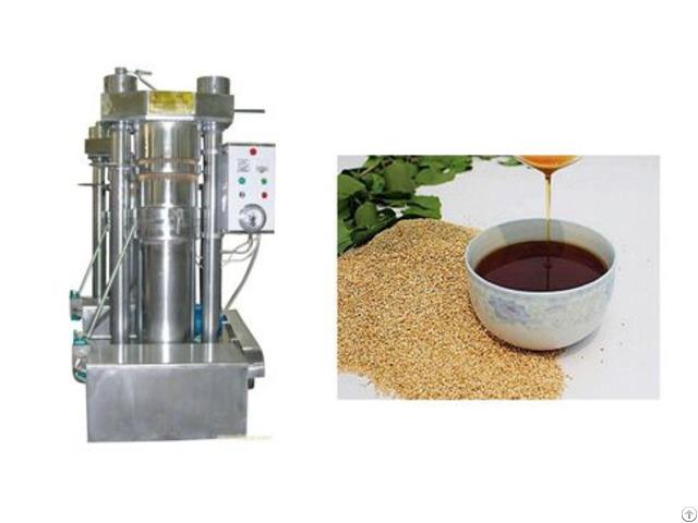New Design Sesame Oil Hydraulic Press Machine