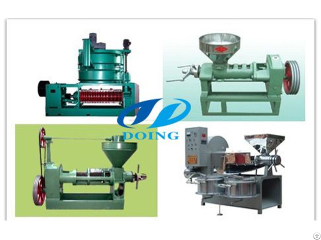 High Quality Long Working Life Screw Oil Press Machine