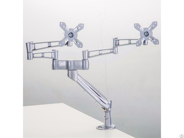 Desktop Bracket Mount Lcd Monitor Dual Arms