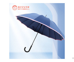 Rst Business Windproof Promotion Big Size Straight Umbrella