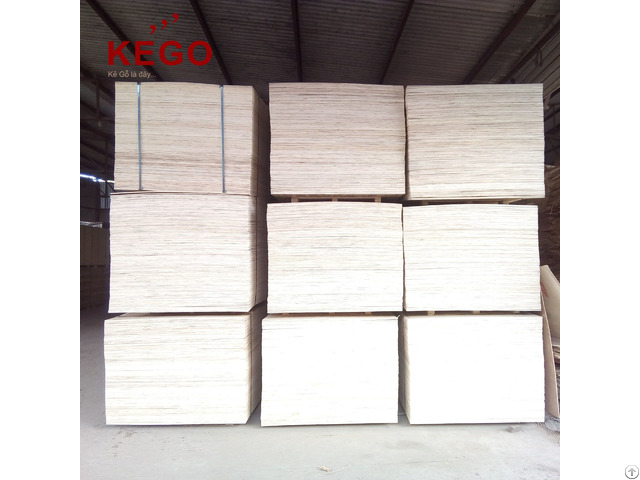 Packing Plywood Sheet Whole Sale From Kego Company Limited To Korea Market
