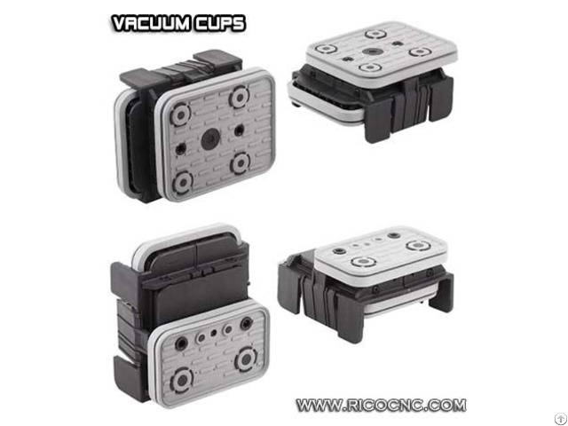 Vacuum Suction Cup Block Pods For Ptp Cnc Processing Machines