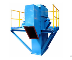 China Industrial Customized Lift Height Chain Type Steel Bucket Elevator For Grain