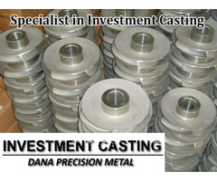Specialist In Investment Casting China