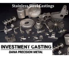 Stainless Steel Castings In China