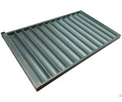 Bakery Industrial Baguette Tray For Deck Oven