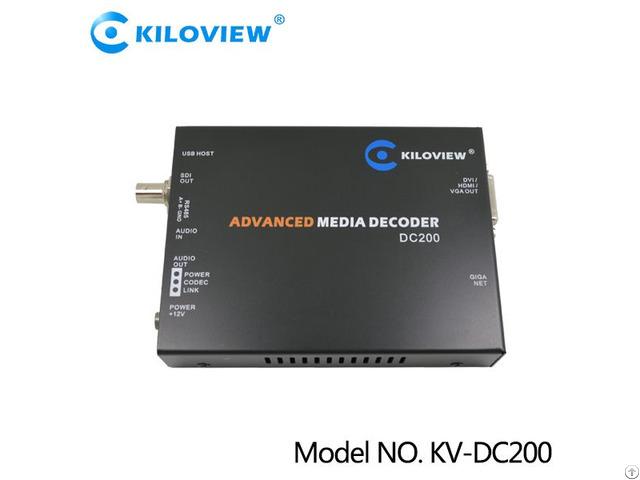 Kv-dc200 Sdi Hdmi Vga Dvi Video Decoder