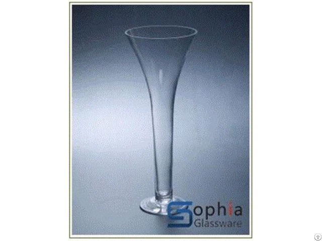 Flared Glass Vases