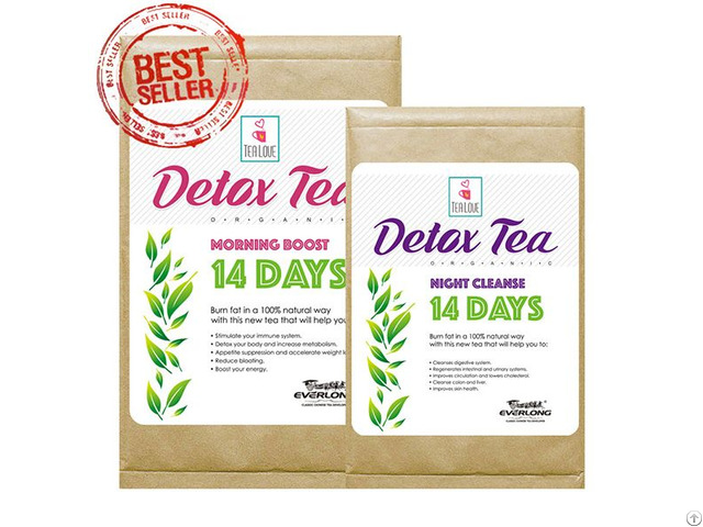 100% Organic Herbal Detox Slimming Weight Loss Tea 14 Day Program