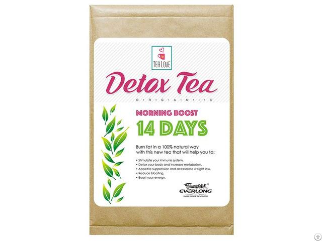 100% Organic Herbal Detox Slimming Wight Loss Tea Morning Boost 14 Day
