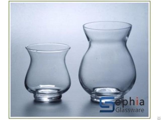 Ginger Glass Vases