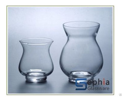 Ginger Glass Vases