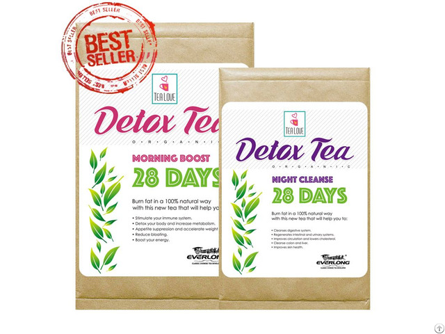 100% Organic Herbal Detox Slimming Weight Loss Tea 28 Day Program