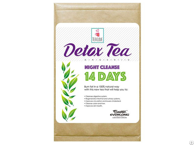 100% Organic Herbal Detox Slimming Weight Loss Tea Night Cleanse 14 Day
