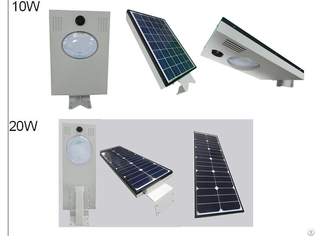 All In One Led Solar Street Lamp 10w 60w