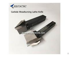 Carbide Wood Lathe Knife Cnc Lathing Cutters Woodturning Tools