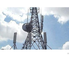 China High Strength Anti Wind Seismic Galvanized Microwave Tower Manufacturer