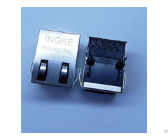 Ingke Ykju 0219nl 100% Cross Jxd1 0005nl 1 Port 100base Tx Through Hole Rj45 Jacks With Magnetics
