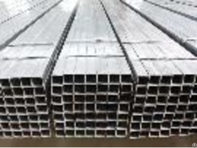 Hot Dipped Galvanized Welded Rectangular Square Steel Pipe Tube Hollow