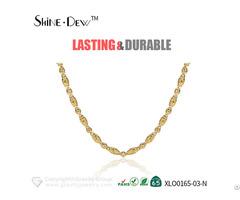 Custom Design Fashion Necklace 18k Gold Jewelry