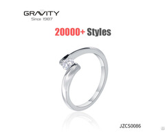 Gold Supplier Stylish Rings Metal Jewelry Trendy Ring For Party