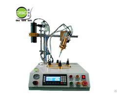 Four Position Circular Glue Dispensing Machine