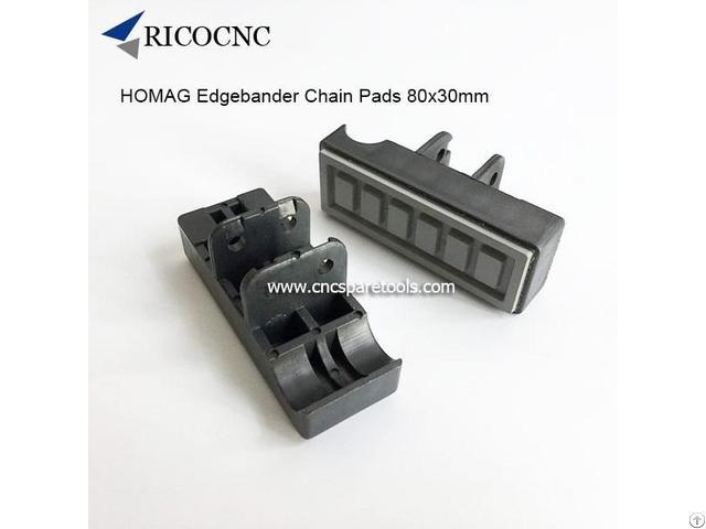 Homag Edgebander Track Chain Pads