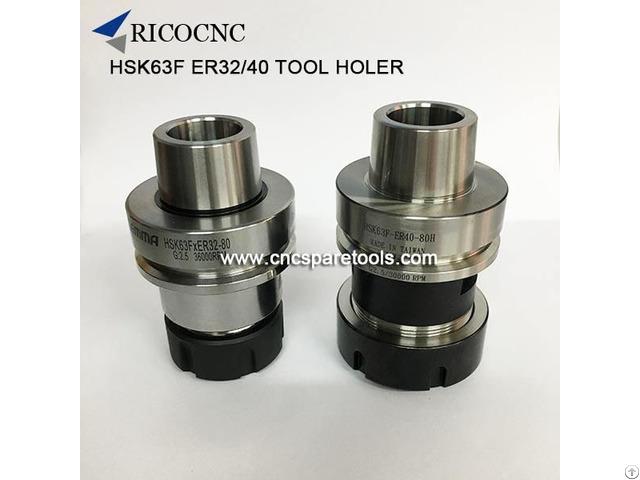 Hsk63f Er Tool Holder Hsk Collect Chucks For Woodworking Cnc Router