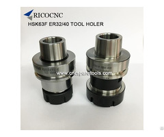 Hsk63f Er Tool Holder Hsk Collect Chucks For Woodworking Cnc Router
