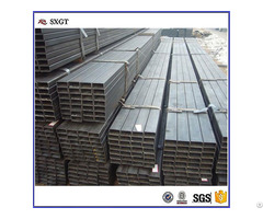 Ss400 Black A53 Steel Pipe Q195 Rectangle Tube