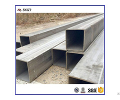 Q195 Hot Rolled Rectangle Steel Tube