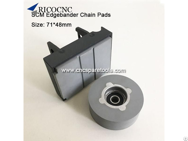 Scm Edgebander Chain Track Pads For Edgebanding Machines