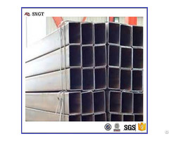 Carbon Steel Welded Black Rectangular Pipe Made In Tangshan
