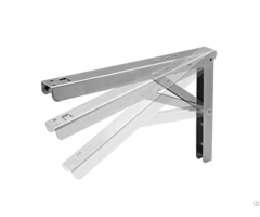 Galvanized Steel Furniture Folding Shelf Brackets