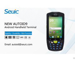 Android Handheld Terminal For Data Collection New Autoid 9