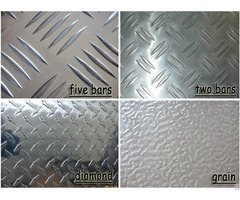 Aluminum Alloy Tread Plates Checker Sheets Chequered Sheet