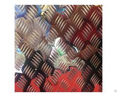 Diamond Tread Pattern Slip Resistant Aluminum Sheets Factory