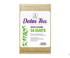 100% Organic Herbal Detox Tea Night Cleanse 14 Day