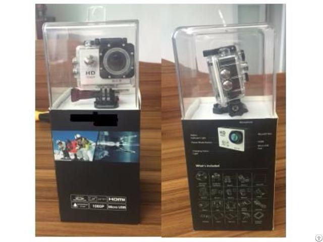 Y8 Wifi Outerproof Sport Camera In Sunplus Program