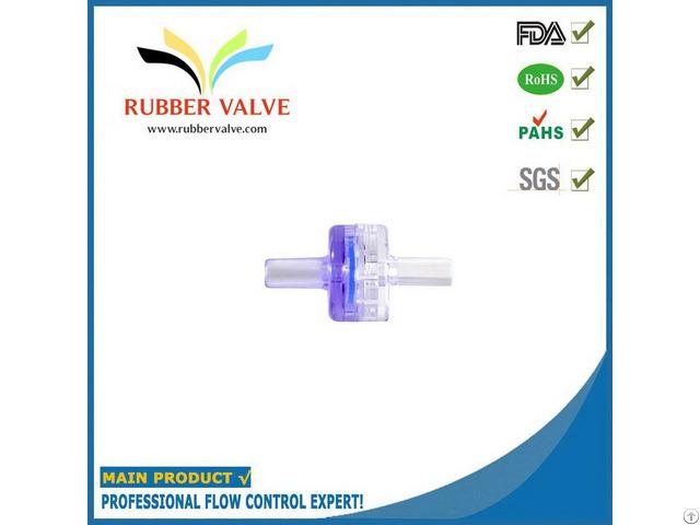 Mini Plastic Medical Air Check Valve For Blood Pressure Monitor