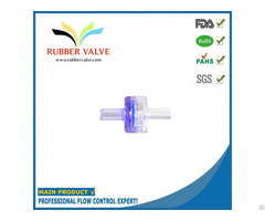 Mini Plastic Medical Air Check Valve For Blood Pressure Monitor